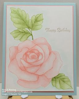 Mary's Craft Room: Rose Wonder in Pink
