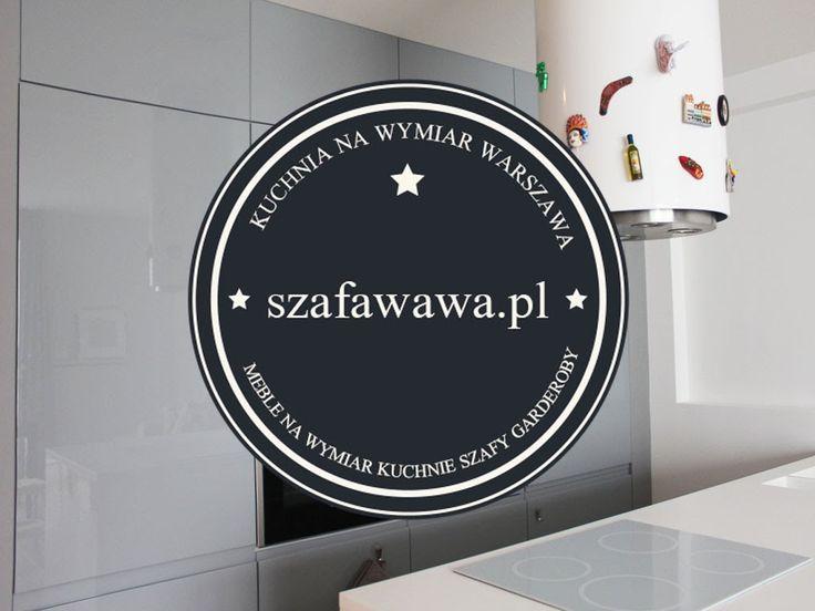 Kuchnia na wymiar Warszawa Wilanów Szafawawa.pl Watch high gloss kitchen made by us!