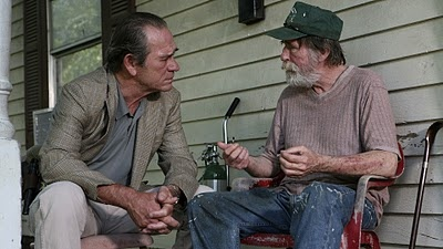 """In the Electric Mist - directed by Bertrand Tavernier... """"Your meter's runnin' Julie. I wanna talk about that murdered girl we found south of town."""".... Tommy Lee Jones is great in this..."""