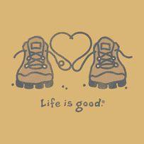 Womens Hiking Boots Heart Crusher Tee