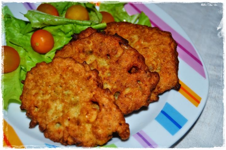Pataniscas de Vegetais (Vegan)