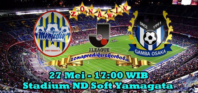 Prediksi Yamagata Montedio vs Gamba Osaka 27 Juni 2015