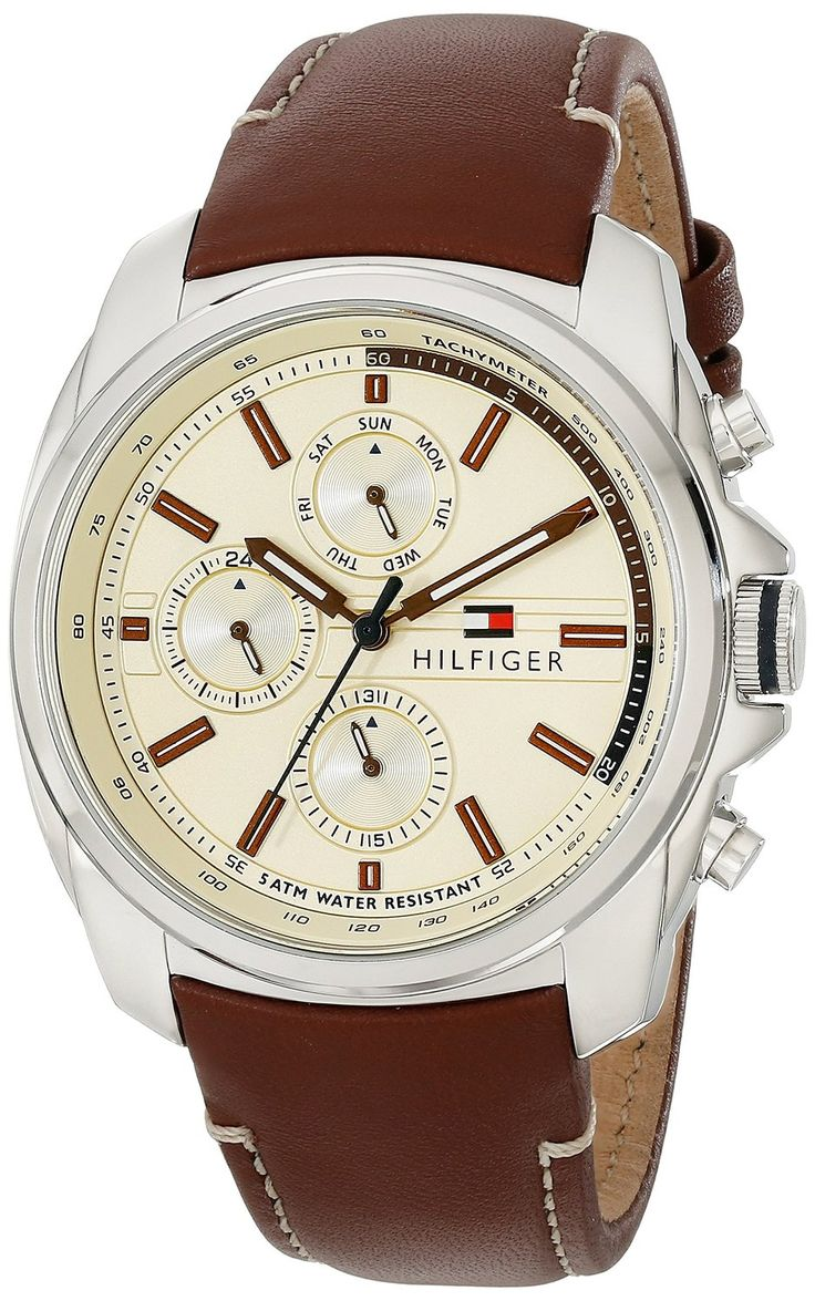 Tommy Hilfiger Men's 1791079 Analog Display Quartz Brown Watch ** Check out this great watch.