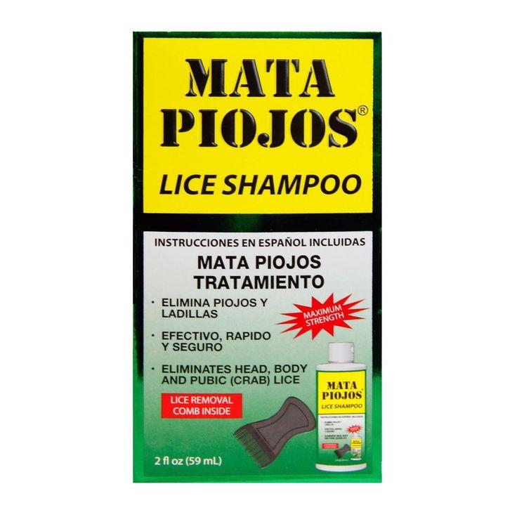 Mata Piojos Medicated Shampoo - 2 fl oz