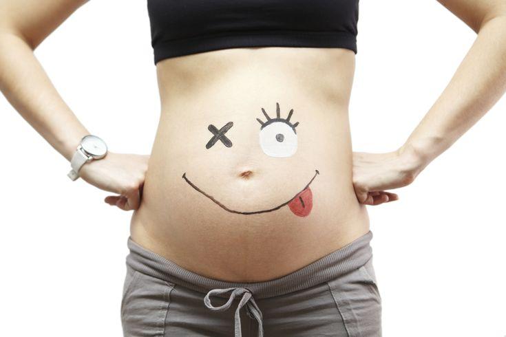 De 57 meest bizarre zwangerschapsfoto's