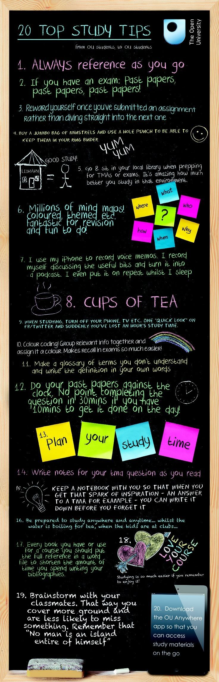 Study tips for middle and high school students.