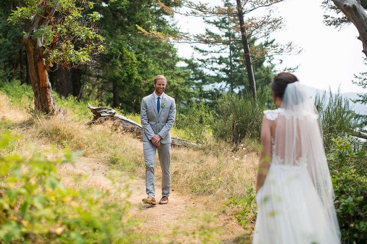 First Look | Pacific Northwest Wedding | Washington Wedding | Woodstock Farm