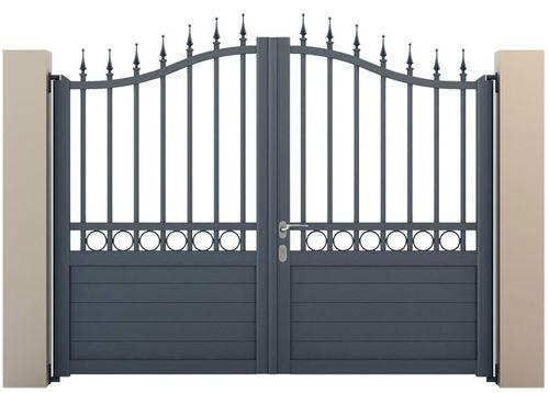 Cancello a sbarre / battente / di alluminio / residenziale CLASSIC ALUMINCO