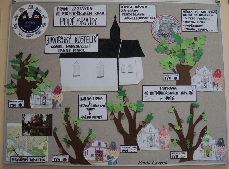 Poděbrady - skupinová práce inspirovaná pověstí - Kutnohorští havíři