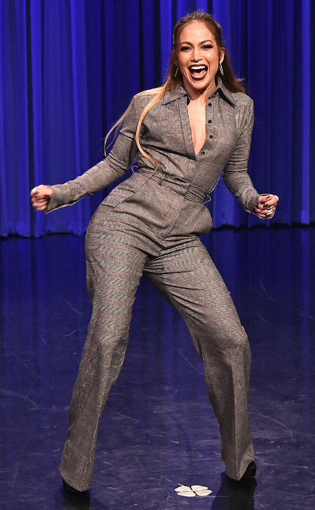 Jennifer Lopez from The Big Picture: Today's Hot Photos  The Shades of Blue star has some laughs while onThe Tonight Show Starring Jimmy Fallon.