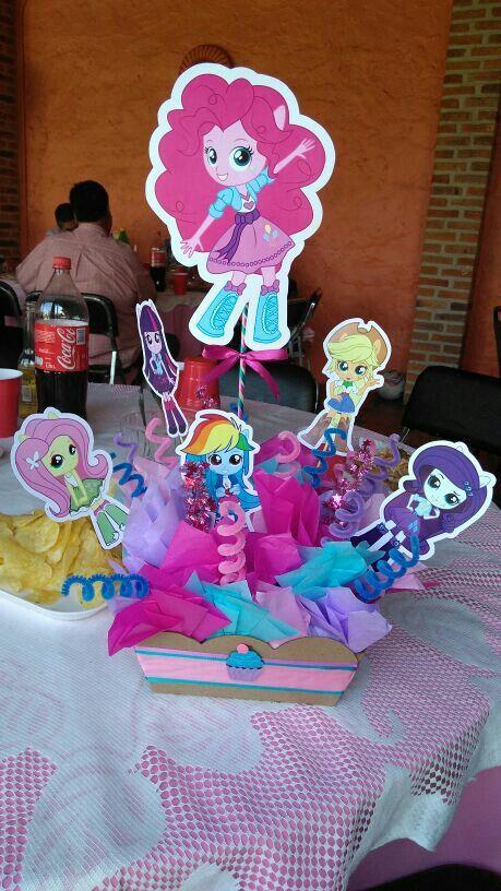Centro de mesa equestria girl centros de mesa y - Centros de mesa otonales ...