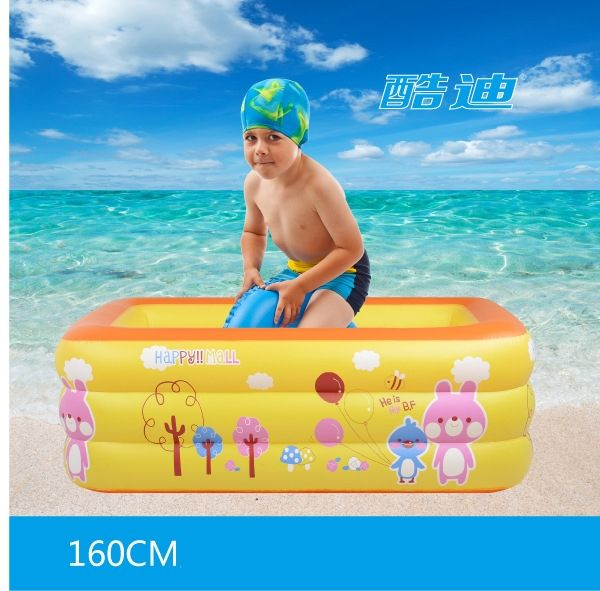 165.00$  Buy here - http://ali8nf.worldwells.pw/go.php?t=32674077452 - Intex infant swimming pool 160*120*60CM infant kids child plastic swimming pool inflatable outdoor swimming children swim pools 165.00$