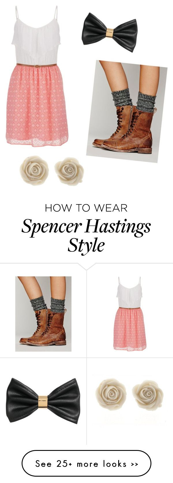 """Spencer Hastings"" by lauramshaw on Polyvore"