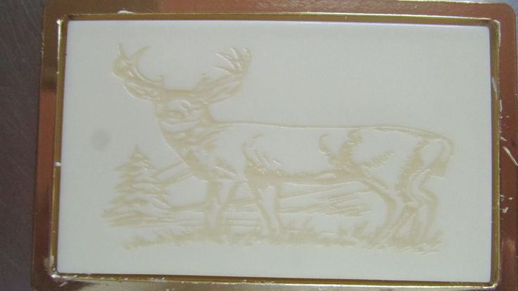 Engraved white chocolate