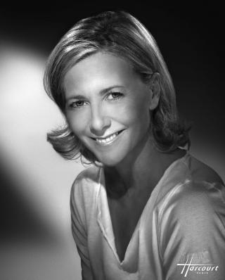 Claire Chazal by Studio Harcourt Paris 2009