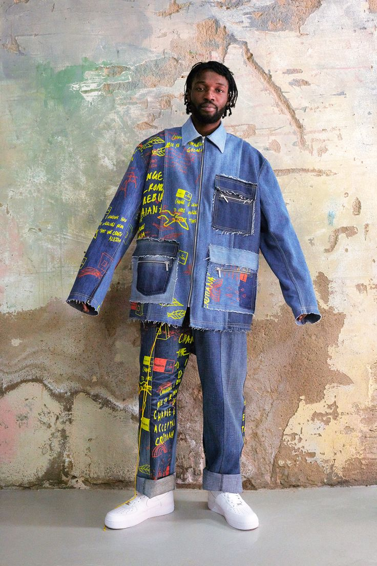 Bethany Williams is a pioneering British menswear designing committed to exploring social and environmental change within her work and working with marginalised parts of society to bring about posi...