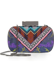 Matthew Williamson: Prints Silk, Silk Boxes, Boho Clutches, Aztec Clutches, Matthew Williamson Prints, Clutches Satchel, Boxes Clutches, Handbags Clutches, Matthewwilliamson