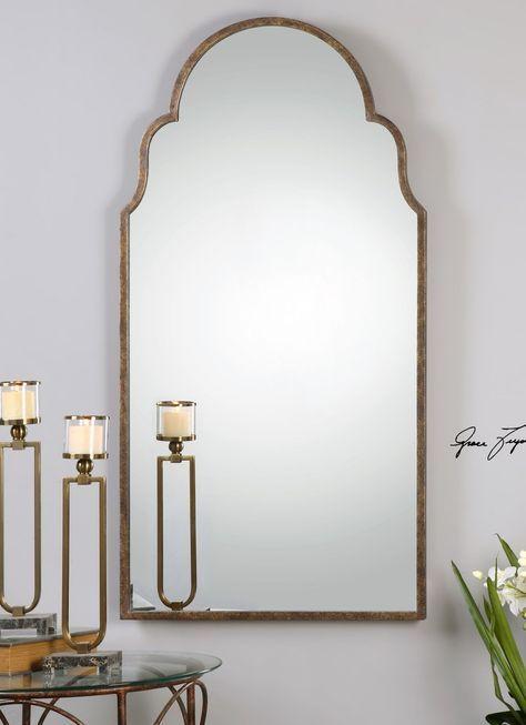 30 x 60 mirror wall uttermost brayden tall arch mirror 12905 30