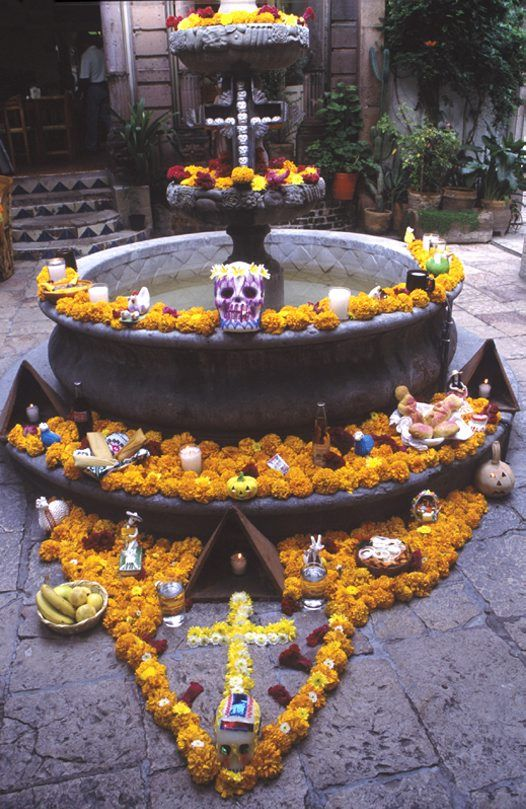 Day of the Dead in San Miguel de Allende, Guanajuato, Mexico, 2002…