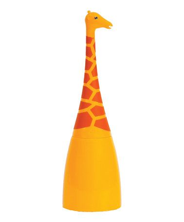 Perfect for a kid's bathroom! Giraffe Toilet Brush & Caddy  by Animal House by Boston Warehouse on #zulily today!