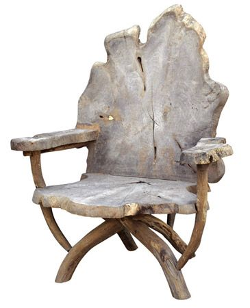 Oly Studio's Tara Chair in reclaimed teak