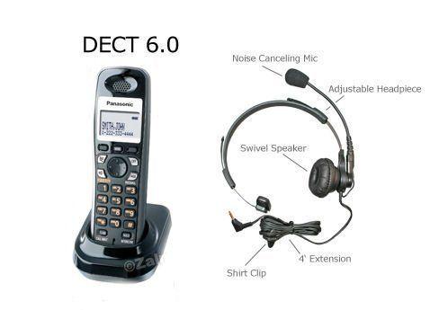 Panasonic DECT 6.0 Digital Expansion Cordless Handset for