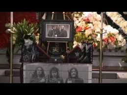 Lemmy from Motorhead's funeral