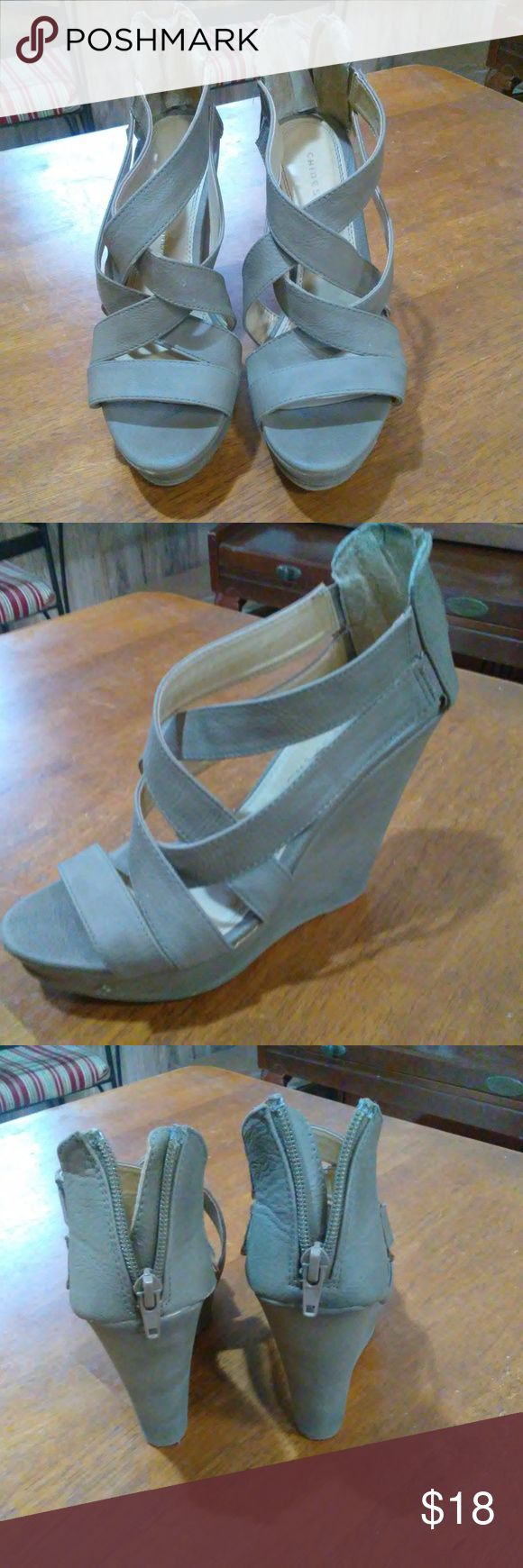 tan color Heels, Chinese Laundry Size 7 Beige color Heels, Chinese Laundry Size 7 Chinese Laundry Shoes Heels
