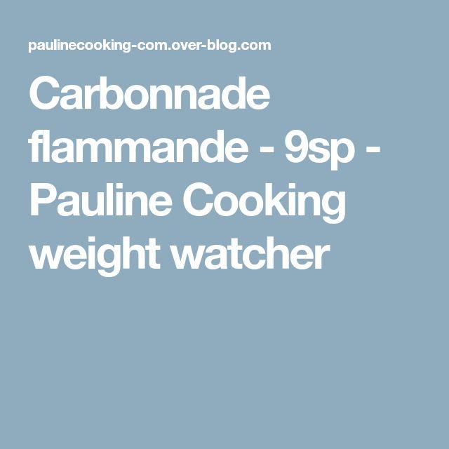 Carbonnade flammande - 9sp - Pauline Cooking weight watcher