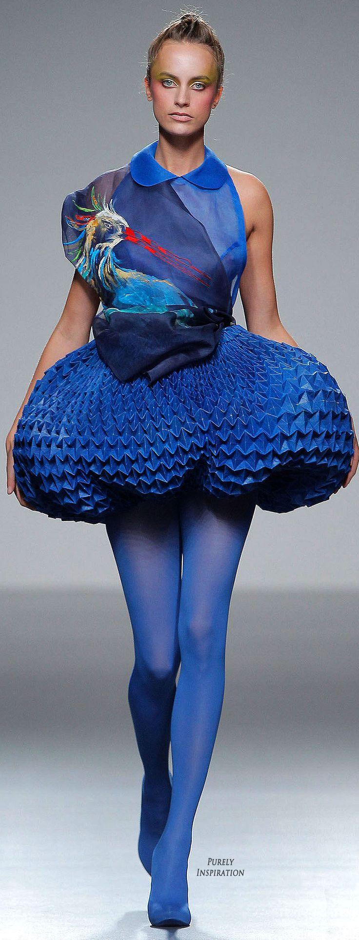 Eva Soto Conde Origami Collection 2012 Women's Avant-garde Fashion | Purely Inspiration