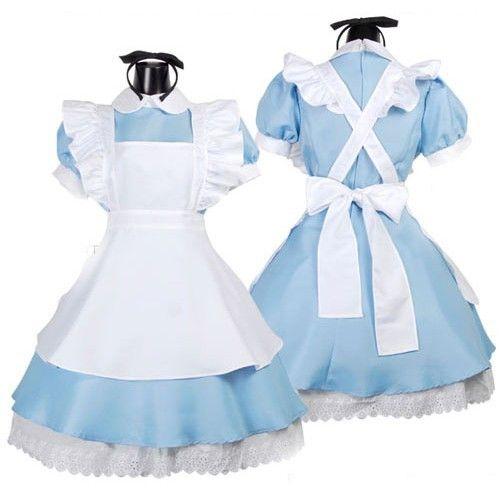 Adult Size Alice in Wonderland Disney Costume Cosplay Apron Underskirt Halloween | eBay