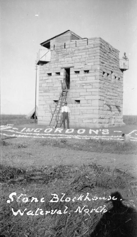 Stone blockhouse at Waterval North occupied by the 1st Battalion, Gordon Highlanders. © IWM (Q 72475) pic.twitter.com/L0H2U1PR3u