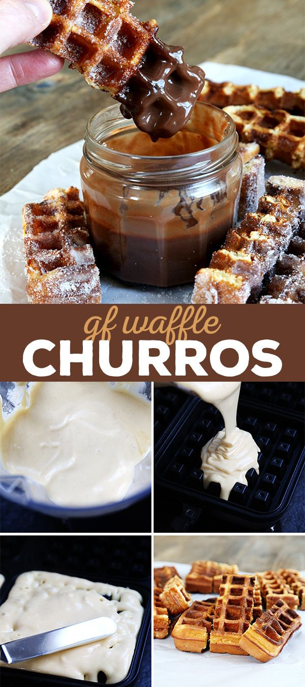 These gluten free waffle churros are like a Cinco de Mayo miracle. They have all the taste and texture of churros but in a no-fry waffle batter.