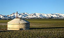 Yurt - Wikipedia, the free encyclopedia