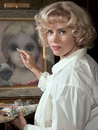 margaret keane - amy adams BIG EYES - playing at theaters this week (4Jan2015) very 60's nostalgic....