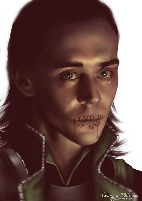Loki's punishment (seriously, it's in Norse mythology) :( I also read this in the Trials of Loki comic books and this was SO NOT COOL MAN.