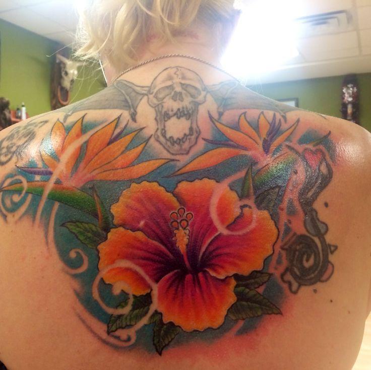 Hawaiian flower tattoo tattoos pinterest hawaiian for Hawaiian flower tattoos meaning