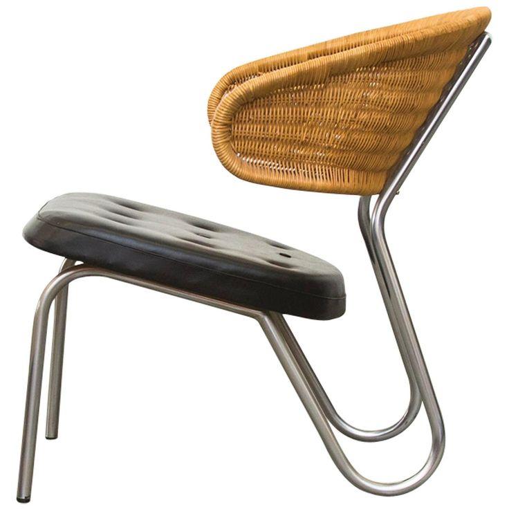 Dirk Van Sliedrecht for Rohe Noordwolde Lounge Chair for Stedelijk Museum Amsterdam ca.1954