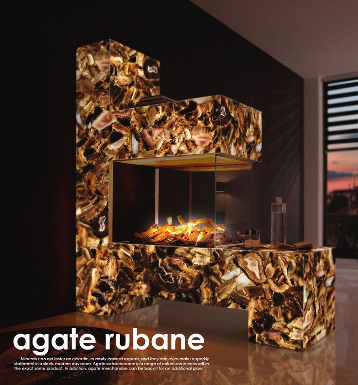 AGATE RUBANE