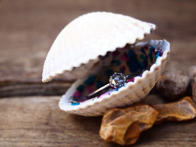 Warning to the men on Pinterest: I will not say yes unless my engagement ring is presented to me in a sea shell