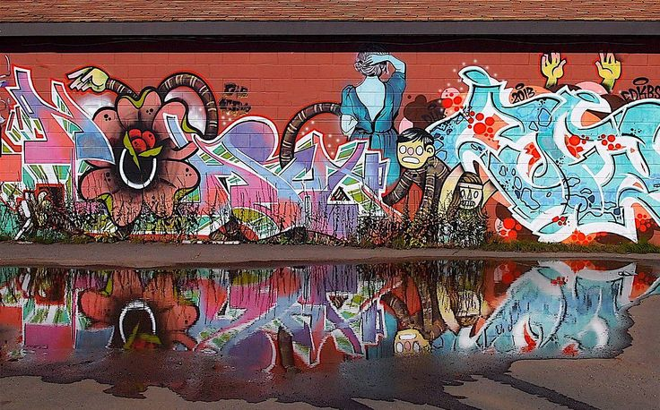 Fantastic murals magically manifest themselves, further adding to the exciting mix for a diverse urban adventure.