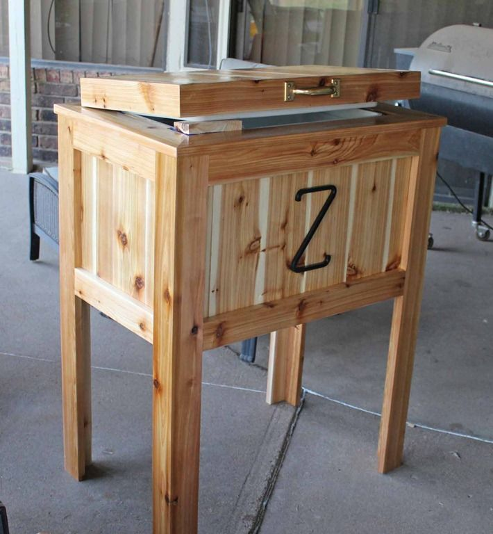 Wooden Ice Chest ~ Wooden ice box plans woodworking projects