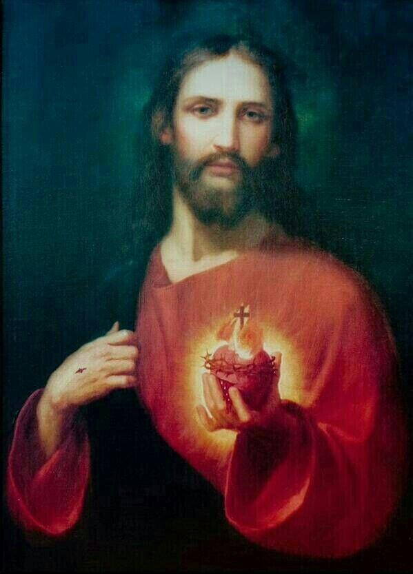 Sacred Heart of Jesus, I implore that I may ever love You more and more.