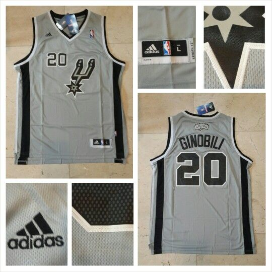 JERSEY BASKETBALL NBA SAN ANTONIO SPURS MANU GINOBILI #20 SWINGMAN REVO30 FOR SALE  CONTACT US! BB 28BCBB04 LINE LEONARDUSMARVIN WHATSAPP +62-838-7033-0922