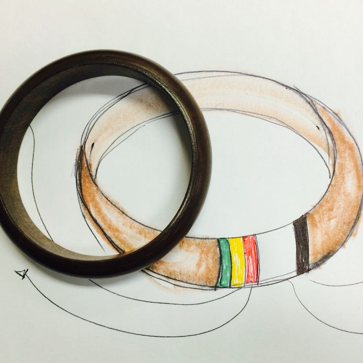 Drawing Of A Bracelet I'm Trying To Design