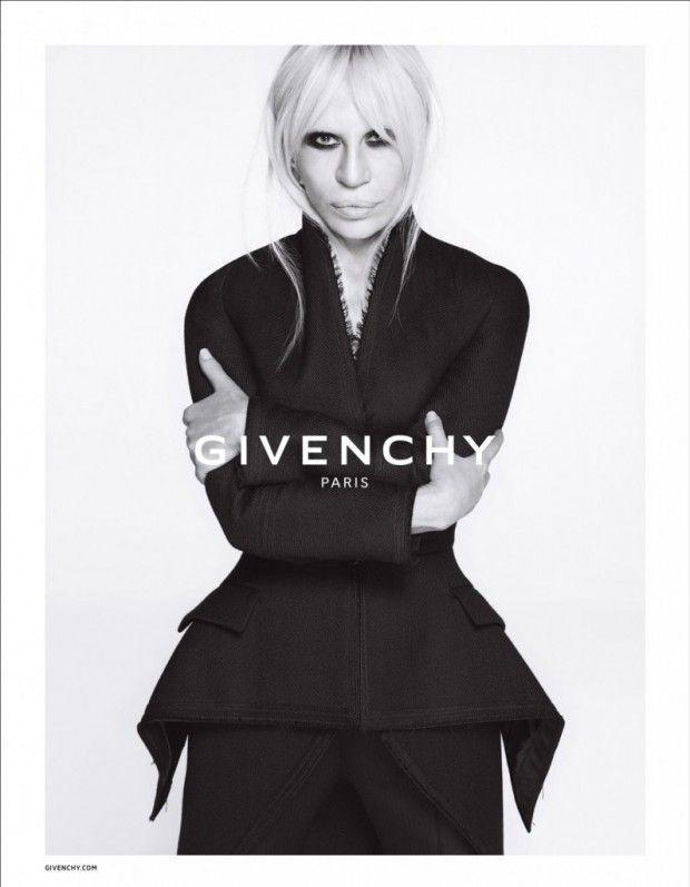Donatella Versace x Givenchy