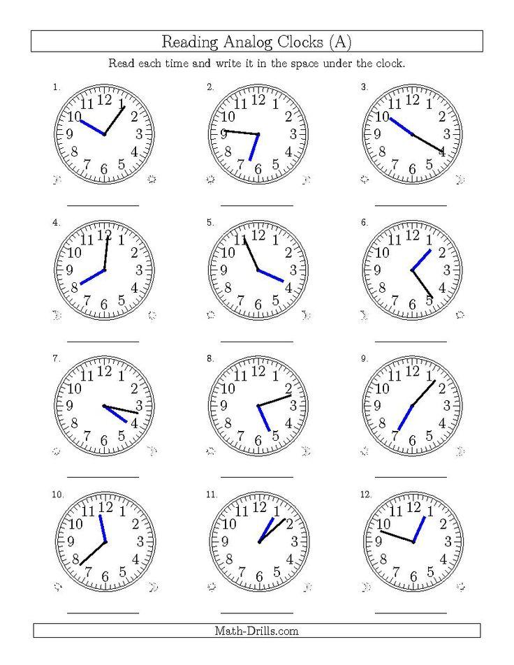 25+ best ideas about 12 Hour Clock on Pinterest | Summer hours ...