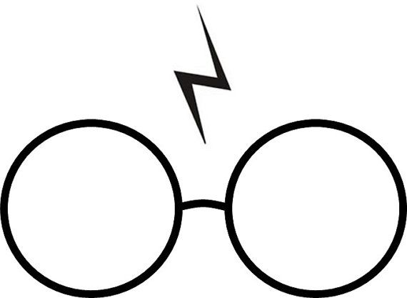 Harry Potter Glasses and Scar Temporary by temporarytattooyou
