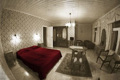 Sleep in historical cabins and enjoy a huge breakfast at Messilä. #Finland #Travel #Lahti