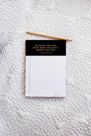 List Maker - Black form FRANK Stationery https://www.frankstationery.com/collections/lists-planners/products/list-maker-black